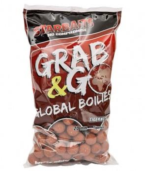 Starbaits Grab & Go Global Boilies Tigernut 20mm 10kg