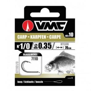 VMC Carp 7110G x10 kom/pak 70cm 0.22mm No. 8