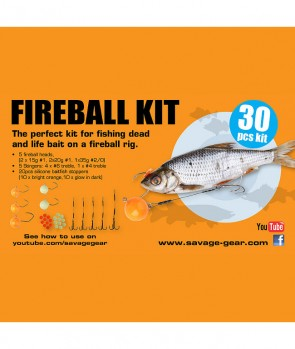 Savage Gear Fireball Pro Pack Kit