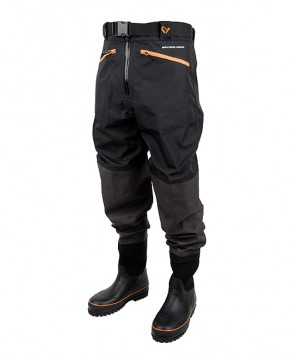 Savage Gear Breathable Waist Wader Boot Foot Cleated