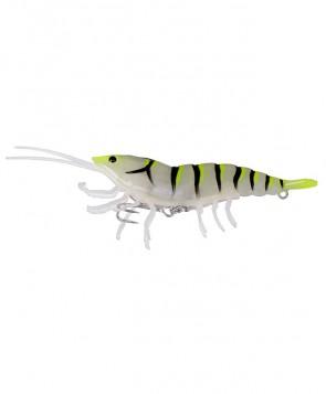 Savage Gear 3D Hybrid Shrimp 10cm 17g Yellow Tail Glow