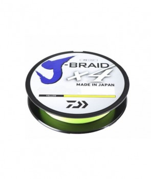 Daiwa J-Braid X4E 270m Yellow