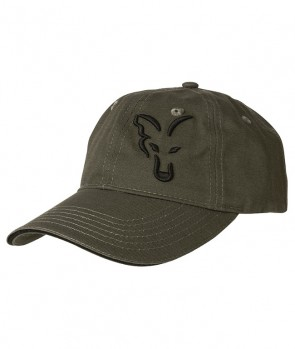 Fox Green / Black Baseball Cap
