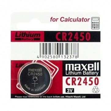 Baterija Maxell Cell Lithium CR2450 / DL2450 1kom