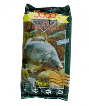 Sensas 3000 Carp Yellow 1kg