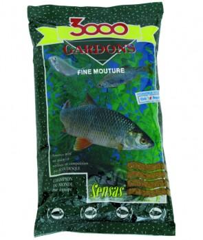 Sensas 3000 Fine Texture Gardons 1kg