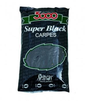 Sensas 3000 Super Black 1kg