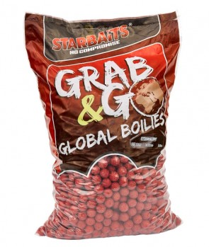 Starbaits Grab & Go Global Boilies Strawberry Jam 20mm 10kg