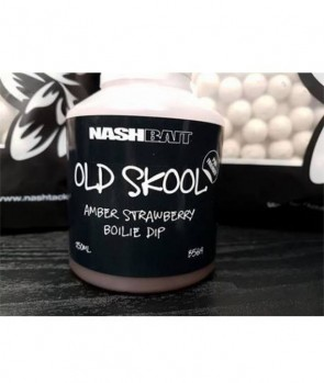 Nash Amber Strawberry Boilie Dip 250 ml