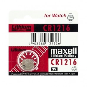 Baterija Maxell Cell Lithium CR1216 / DL1216 1kom