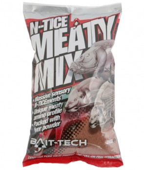 Bait Tech N-Tice Meaty Mix Groundbait 2kg