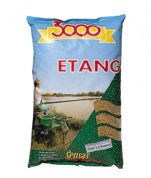 Sensas 3000 Fine Texture Etang 1kg