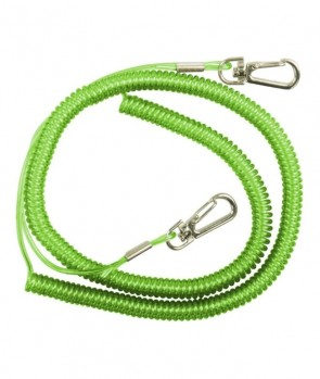 Dam Safety Coil Cord With Snap Locks 90-275cm