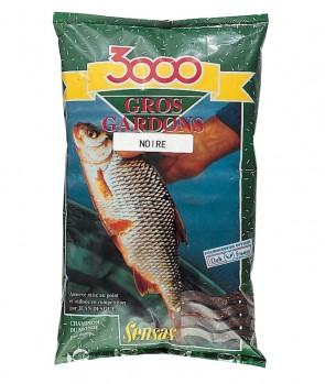 Sensas 3000 Gros Gardons Black 1kg
