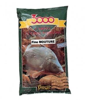Sensas 3000 Carp Fine Particles 1kg