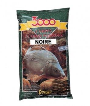 Sensas 3000 Carp Black 1kg
