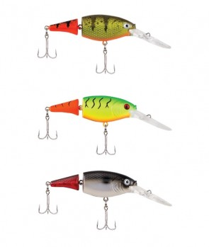 Berkley Flicker Shad Jointed Fire Tail 7cm