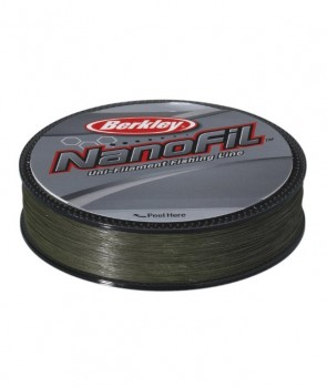 Berkley Nanofil 125m Low Vis Green