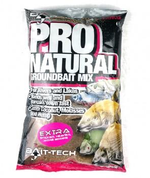 Bait Tech Pro Natural Extra 1.5kg