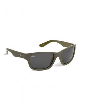 Fox Chunk Sunglasses Khaki/Grey Lense