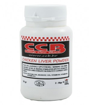 CCB Chicken Liver Powder 50g