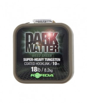 Korda Dart Matter Tungsten Coated Braid Weed Green 10m