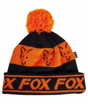 Fox Black Orange Lined Booble