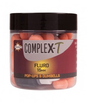 Dynamite Baits Fluro Pop-Up & Dumbells CompleX-T 15mm