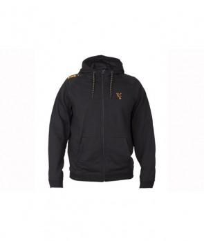 Fox Collection Black / Orange LW Hoodie