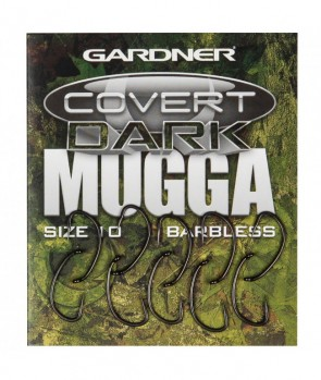 Gardner Covert Dark Mugga Hook Barbless