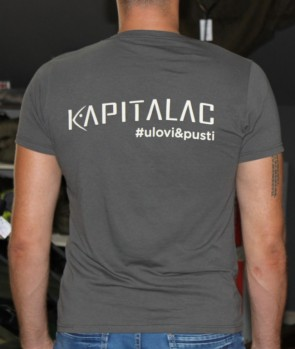 "Kapitalac Majica Back ""Ulovi i Pusti"""