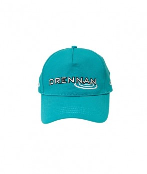 Drennan Match Cap Grey/Aqua