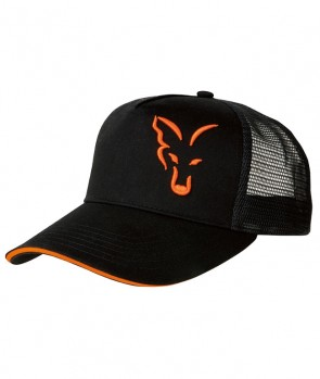 Fox Black / Orange Trucker
