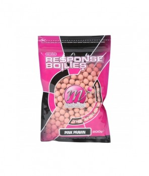 Mainline Shelf Life Boilies Pink Prawn 10mm 200g
