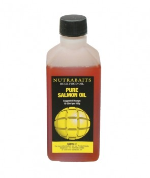 Nutrabaits Bulk Food Oil Pure Salmon 500 ml