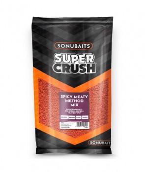 Sonubaits Groundbait Spicy Meaty Method Mix 2kg