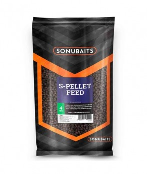 Sonubaits S-Pellet Feed 4mm 1kg