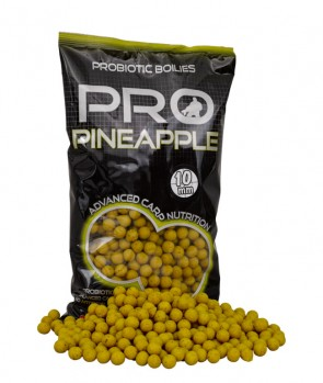 Starbaits Probiotic Boilies Pineapple 1kg 14mm