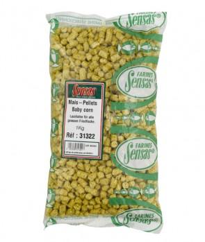 Sensas Baby Corn Pellets 1kg