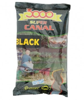 Sensas 3000 Super Canal Black 1kg