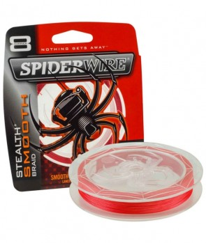 Spiderwire Stealth 8 Smooth 300m Red