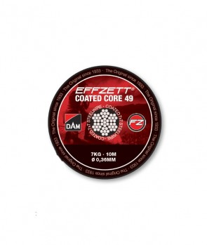 Effzett Coated Core49 Steeltrace Brown / 10m