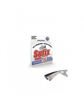 Sufix Fluorocarbon Super 21 FC + Stainless Clipper 150m Clear