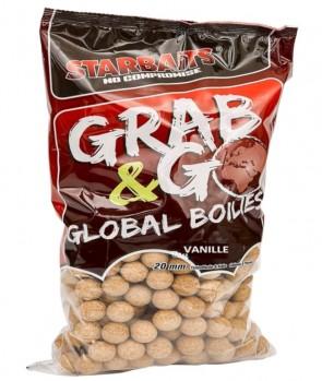 Starbaits Grab & Go Global Boilies Vanille 20mm 10kg